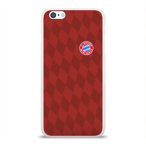 Чехол для Apple iPhone 6Plus/6SPlus силиконовый глянцевый  Фото 01, FC Bayern 2018 Original #10