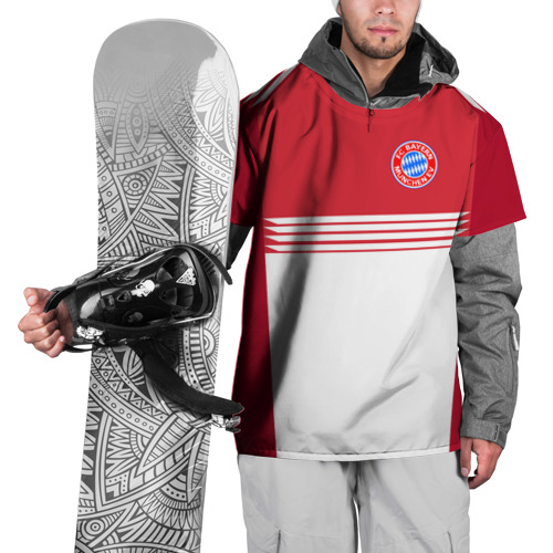 Накидка на куртку 3D  Фото 01, FC Bayern 2018 Original #11