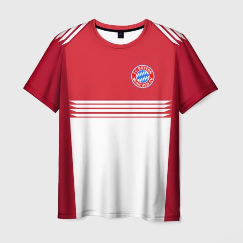 Мужская футболка 3D  Фото 03, FC Bayern 2018 Original #11