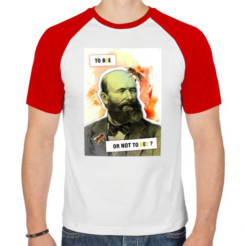 Мужская футболка реглан  Фото 01, Бутлеров (Химия – Просто)