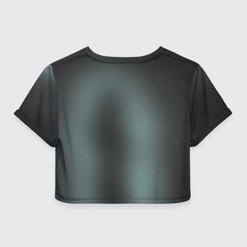Женская футболка 3D укороченная  Фото 02, Jigsaw 2