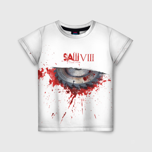 Детская футболка 3D SAW VIII Фото 01