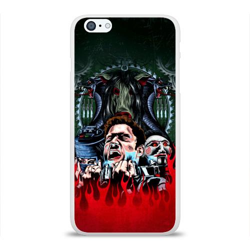 Чехол для Apple iPhone 6Plus/6SPlus силиконовый глянцевый  Фото 01, The fear