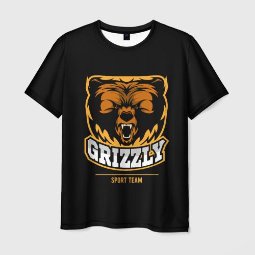 Мужская футболка 3D  Фото 03, GTIZZLY(sport team)