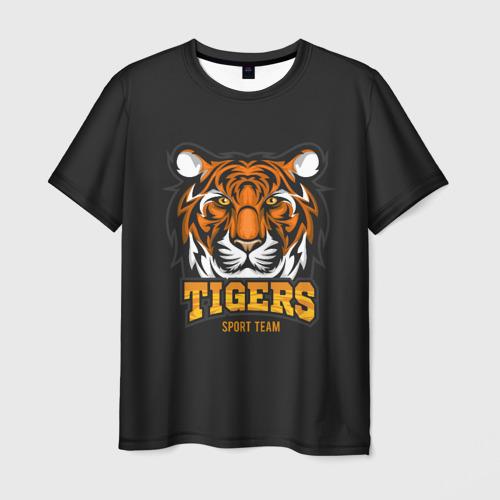 Мужская футболка 3D  Фото 03, TIGERS(SPORT TEAM)