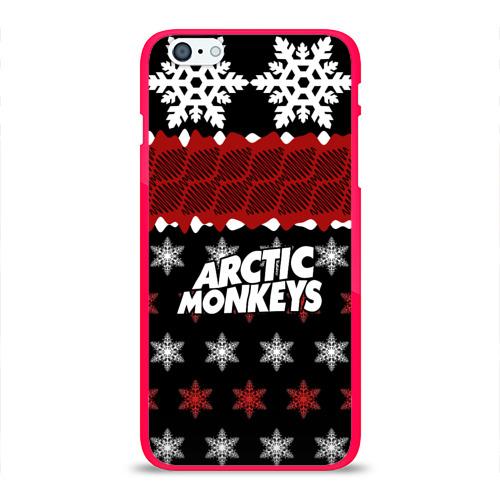 Чехол для Apple iPhone 6Plus/6SPlus силиконовый глянцевый  Фото 01, Праздничный Arctic Monkeys
