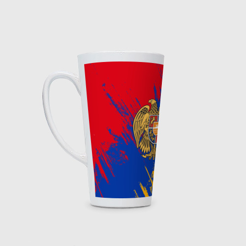 Кружка Латте Герб и флаг Армении