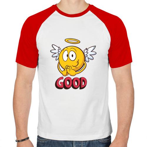 Мужская футболка реглан  Фото 01, Good