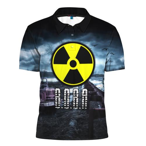 Мужская рубашка поло 3D S.T.A.L.K.E.R. - В.О.В.А.