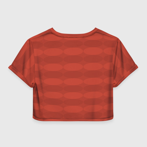 Женская футболка 3D укороченная  Фото 02, Atletico Madrid Original #10