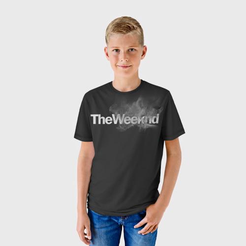 Детская футболка 3D  Фото 01, Smoke