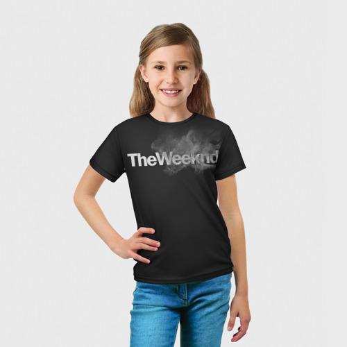 Детская футболка 3D  Фото 03, Smoke