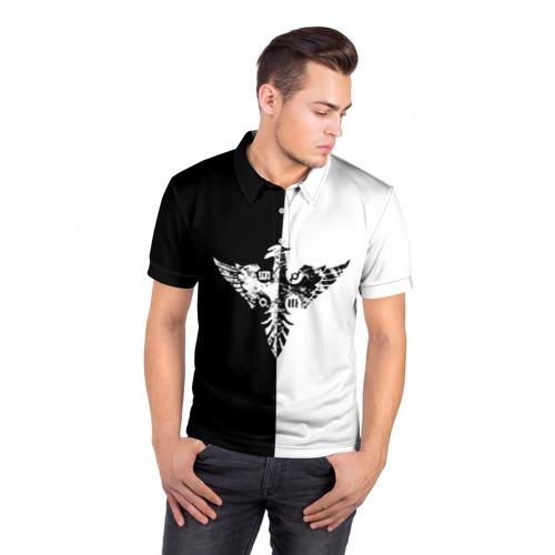 Мужская рубашка поло 3D  Фото 05, Орел 30 Seconds to Mars