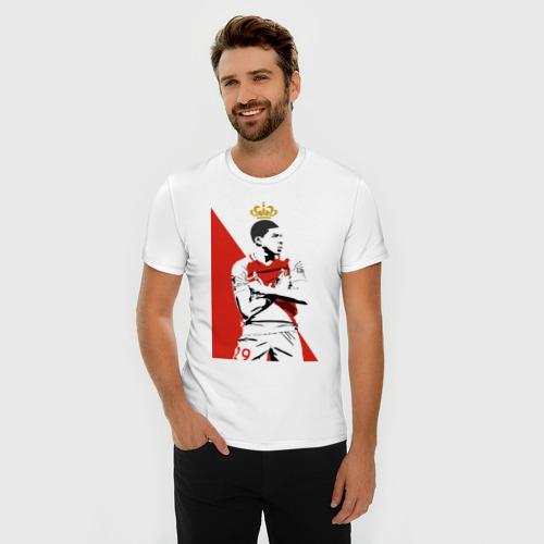 Мужская футболка премиум  Фото 03, Kylian Mbappe