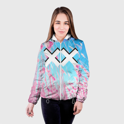 Женская куртка 3D The XX Pink