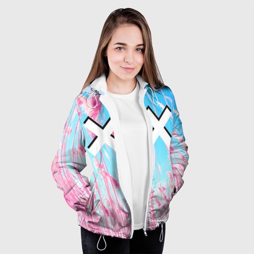 Женская куртка 3D  Фото 04, The XX Pink
