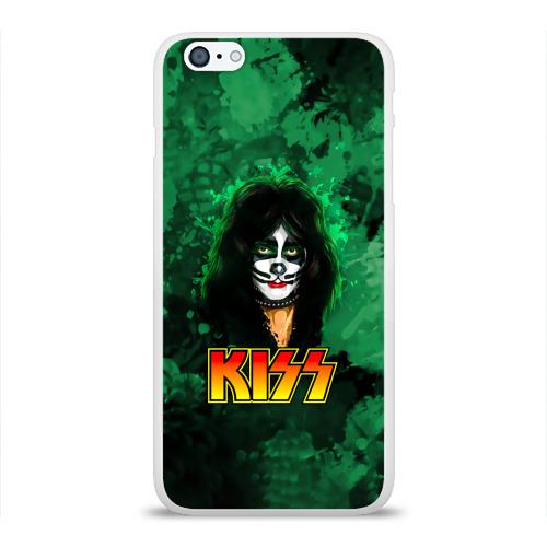 Чехол для Apple iPhone 6Plus/6SPlus силиконовый глянцевый  Фото 01, The Catman, Kiss