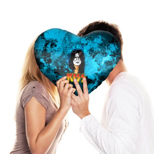 Подушка 3D сердце  Фото 03, The Spaceman, Kiss