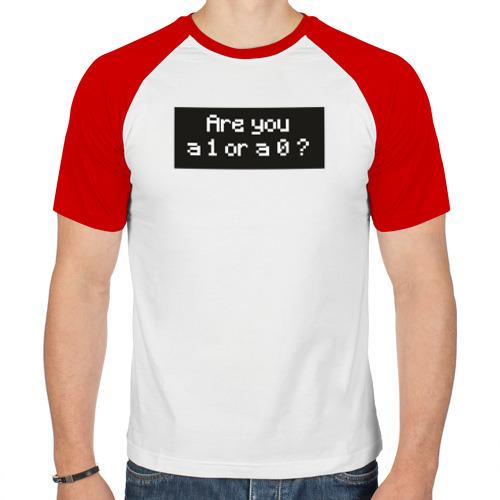 Мужская футболка реглан  Фото 01, 1 or 0