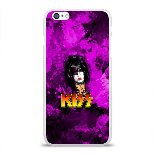 Чехол для Apple iPhone 6Plus/6SPlus силиконовый глянцевый  Фото 01, Starchild, Kiss