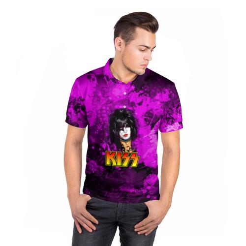 Мужская рубашка поло 3D  Фото 05, Starchild, Kiss