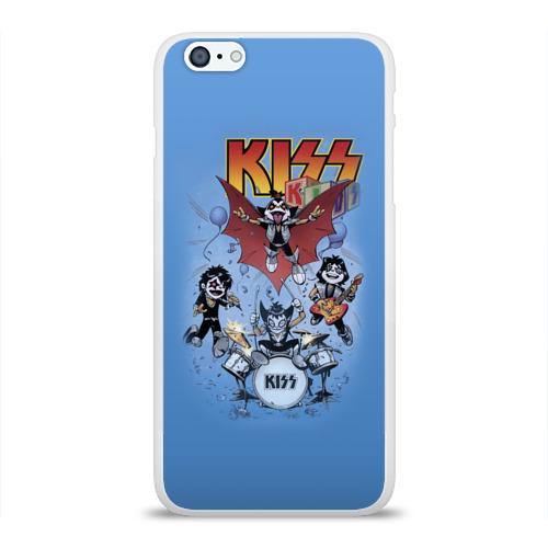 Чехол для Apple iPhone 6Plus/6SPlus силиконовый глянцевый Kiss Фото 01