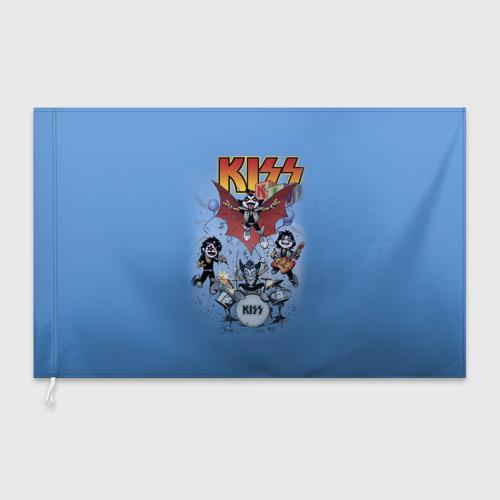 Флаг 3D Kiss Фото 01