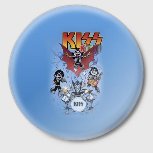 Значок Kiss Фото 01