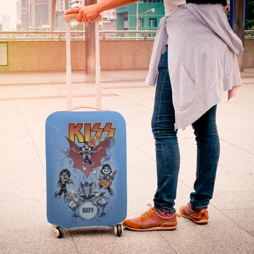 Чехол для чемодана 3D Kiss Фото 01