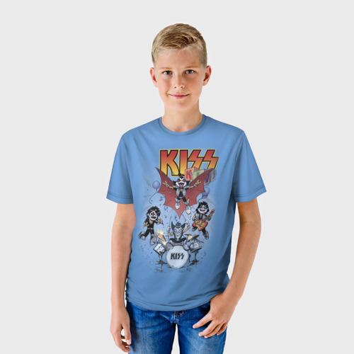 Детская футболка 3D Kiss Фото 01