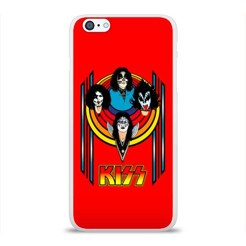 Чехол для Apple iPhone 6Plus/6SPlus силиконовый глянцевый  Фото 01, Kiss