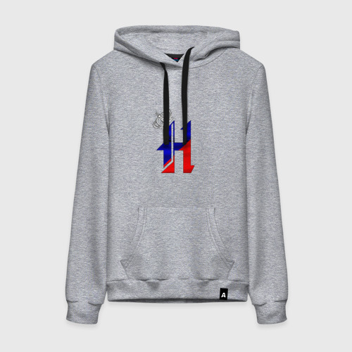 Буква Н в короне, на флаге РФ