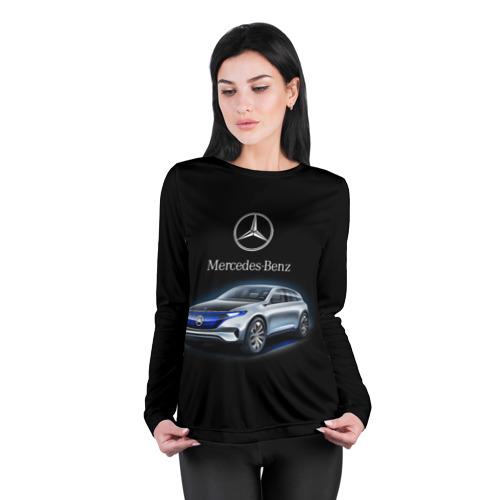 Женский лонгслив 3D для беременных  Фото 04, Mercedes-Benz