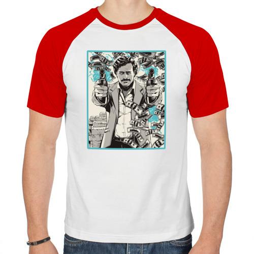 Мужская футболка реглан  Фото 01, Пабло Эскобар