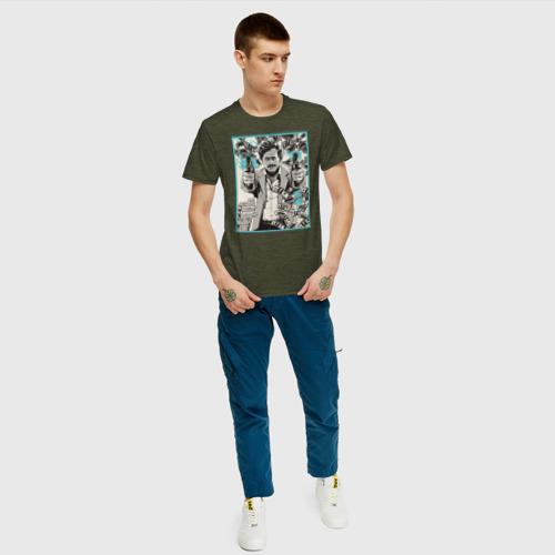 Мужская футболка хлопок Пабло Эскобар Фото 01