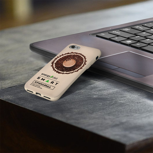 Чехол для Apple iPhone 8 силиконовый глянцевый  Фото 03, #Умнаяеда