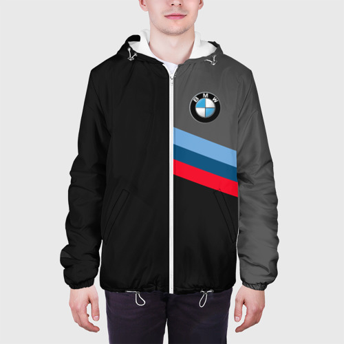 Мужская куртка 3D  Фото 04, BMW  Brand Tricolor