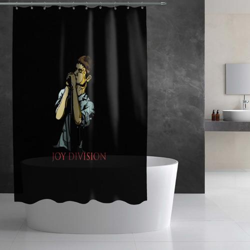 Штора 3D для ванной Joy Division Фото 01