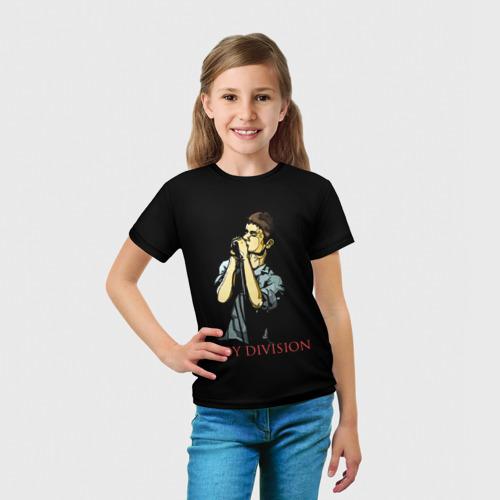 Детская футболка 3D Joy Division Фото 01