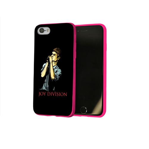 Чехол для Apple iPhone 8 силиконовый глянцевый Joy Division Фото 01