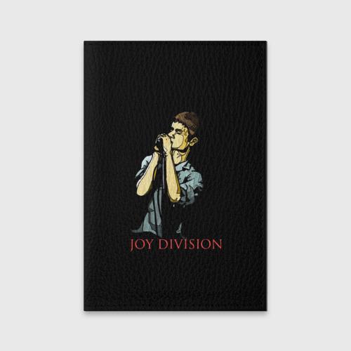 Обложка для паспорта матовая кожа Joy Division Фото 01