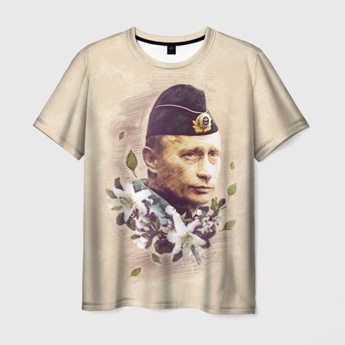 Мужская футболка 3D  Фото 01, Путин