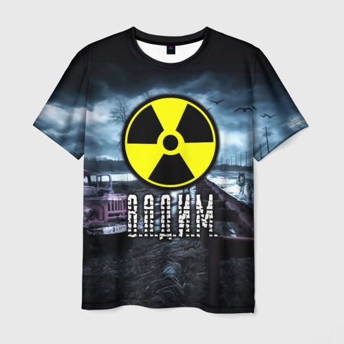 Мужская футболка 3D  Фото 03, S.T.A.L.K.E.R. - В.А.Д.И.М.