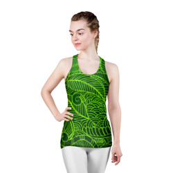 зеленые узоры