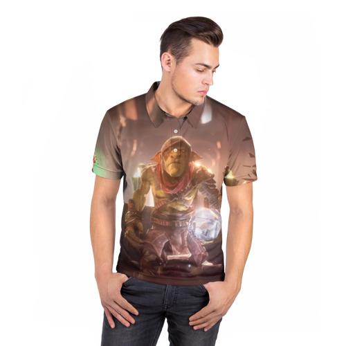 Мужская рубашка поло 3D  Фото 05, Styx