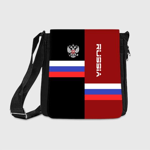 Сумка через плечо Russia герб