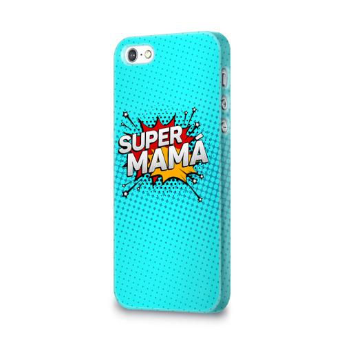 Чехол для Apple iPhone 5/5S 3D  Фото 03, Супер мама