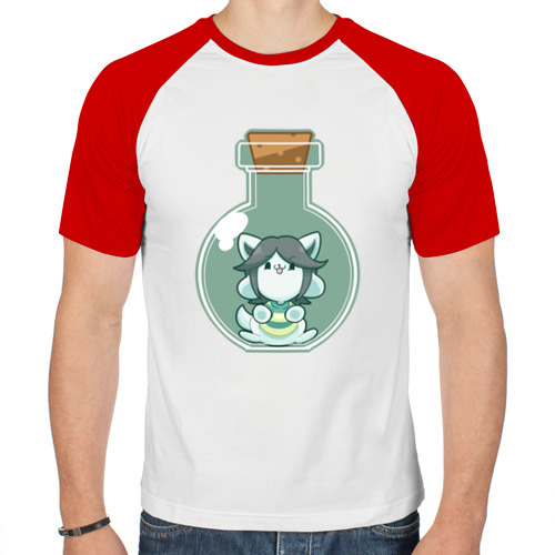 Мужская футболка реглан  Фото 01, Темми