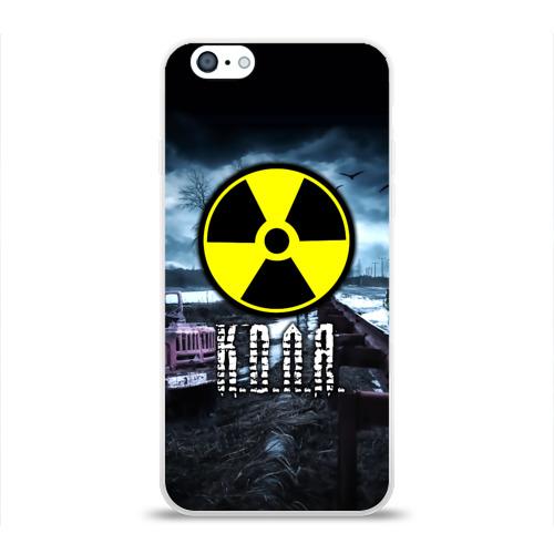 Чехол для Apple iPhone 6 силиконовый глянцевый S.T.A.L.K.E.R. - К.О.Л.Я. Фото 01