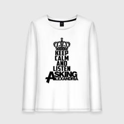 Keep calm and listen AA
